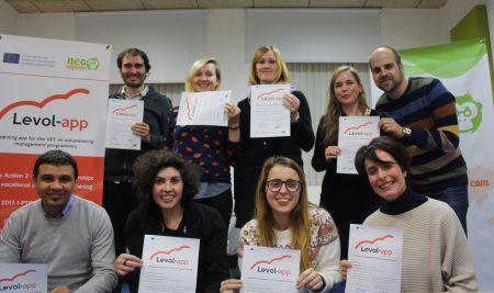 """Neo Sapiens acoge la primera reunión transnacional de """"Levol-app"""""""