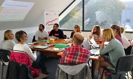 Termina la segunda reunión del proyecto Levol-app