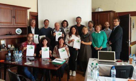 Concluye la tercera reunión transnacional de Ecotextyle en Polonia