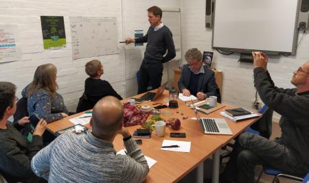 Primera reunión en Reino Unido del proyecto DEPAL
